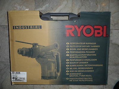 SDS MAX hammer drill breaker Ryobi Japan blue INDUSTRIAL range+new bits 1150w