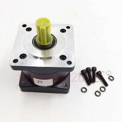 Nema34 Planetary Gearbox 4:1 Speed Reducer 14mm Input Shaft Reduction fr Stepper