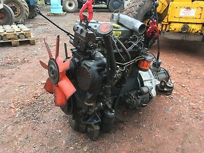 PERKINS PHASER NON turbo diesel engine dodge 50 gearbox