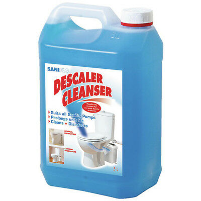 Saniflo Descaler 5ltr 1085, TOILET MACERATOR DESCALER CLEANER