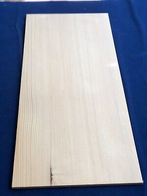 1 × Solid Hemlock Wood Sheets 3mm, 4mm or 6mm
