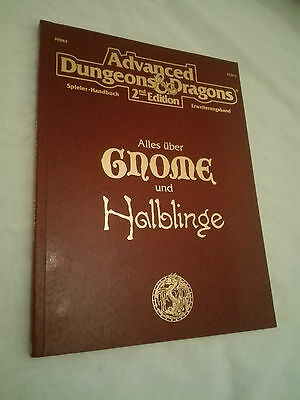 ALLES ÜBER GNOME UND HALBLINGE AD&D 2nd  ADVANCED DUNGEONS & DRAGONS SEHR GUT