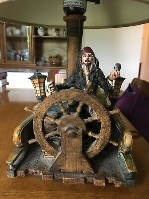 Pirates Of The Caribbean Lamp