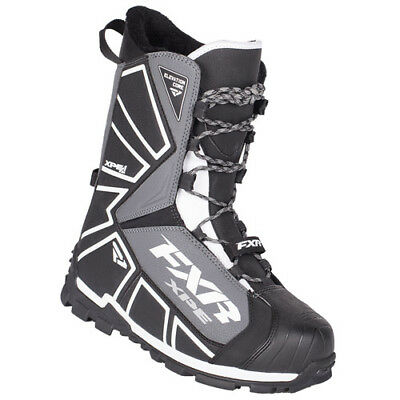 FXR™ Elevation Lite Core Black Men's/Women's Snowmobile Boots, 180703-1001-XX
