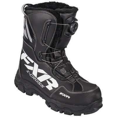 FXR™ X-Cross BOA® Black Men's/Women's Snowmobile Boots, 16507.100XX