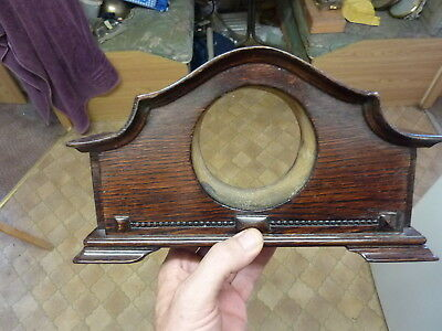 Nice Small Old Solid Oak Clock Case