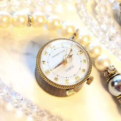 [Tiffany & co] pocket watch REUGE with music WH-586 from japan (7641