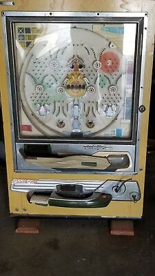 Vintage Used Nishijin Shiroi Kamome Japanese Pachinko Super DX Machine!