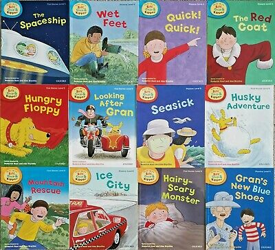 Oxford Reading Tree Read With Biff Chip Kipper Collection 15 Books Set Level 4-6