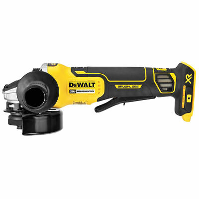 """DeWalt 20V DCG413B 4.5"""" Brushless Angle Grinder with Brake Tool Only New in Box"""