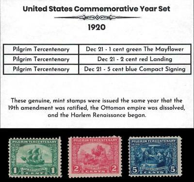 1920 US Postage Stamps Complete Commemorative Year Set Mint