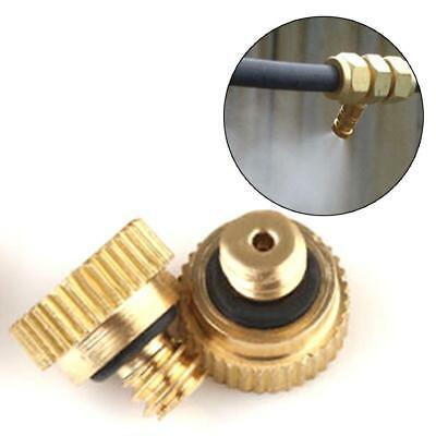 """20x Brass Misting Nozzles for Cooling System 0.012"""" (0.3 mm) 10/24 UNC Garden"""