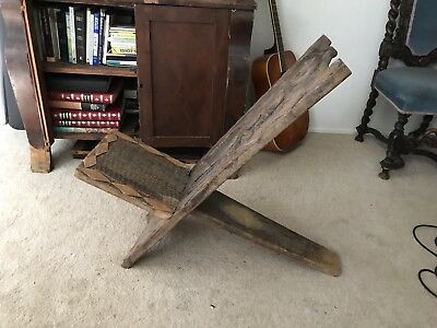 African Antique Chair tribal birthing chair