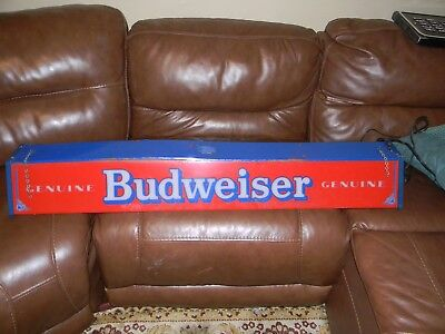 Vintage Budweiser Hanging Pool Table Light Very Rare Anheuser Emblems