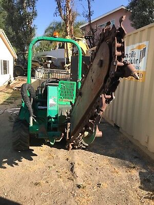 trenchers ditch witch 2012 Ditch Witch RT45 Ride-On Trencher 4x4 Tractor Backfil