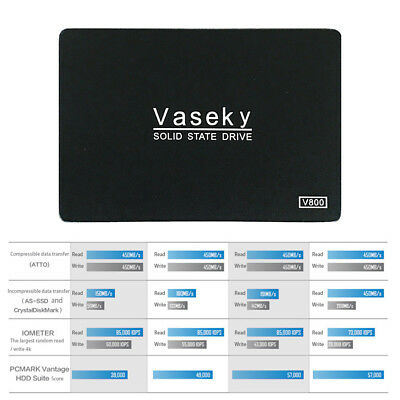 """64GB 2.5"""" MLC SSD SATA 3 SATA III High Speed Solid State Drive Festplatte For PC"""