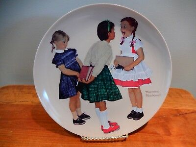 Norman Rockwell - Check-Up - collector plate - Plate no. 2693