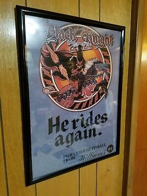 Black Knight 2000 - Pinball Game Poster - Poster Only