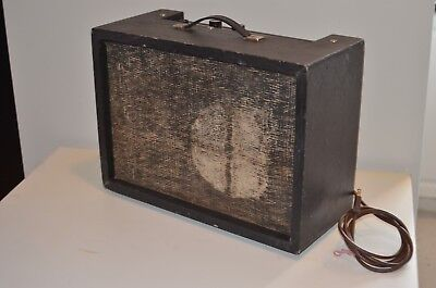 Vintage Pepeco/ Pine Electronic model 201 Tube Amplifier  for repair