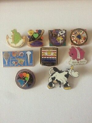 albuquerque balloon fiesta pin lot