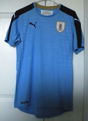 best service 5461f 44911 URUGUAY NATIONAL SOCCER Team PUMA Authentic Adult SMALL ...