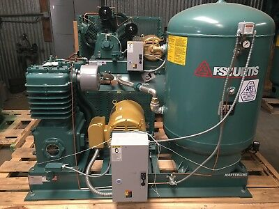 Fs-Curtis 30Hp 2-Stage Reciprocating Fully Packaged Air Compressor 102Cfm At 175