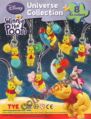 Disney Winnie The Pooh Universe Collection 8 pezzi RARI TOMY