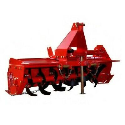 New CULTIVATOR ROTARY TILLER Rotary Hoe Garden 4FT 1.25m 3PL Suit Tractor +20HP