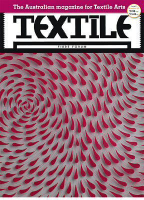 TEXTILE FIBRE FORUM magazine issue 107 - Brand New