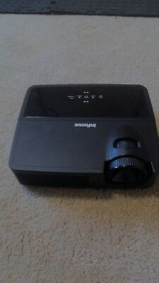 InFocus IN112 Portable DLP Projector, good condition w/4786 hours used