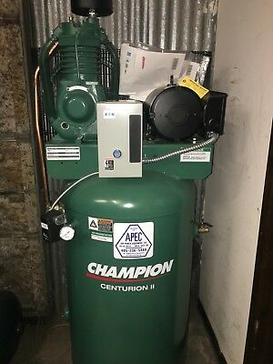 Vrv5-8 Champion Air Compressor 80-Gallon 2-Stage 230V Single Phase 17.3Cfm @175