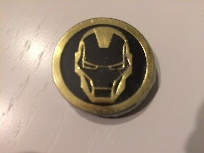 Marvel Infinity Gauntlet Dig It Avengers Gem GOLD IRON MAN CHARACTER COIN