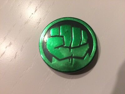 Marvel Infinity Gauntlet Dig It Avengers Gem GREEN HULK CHARACTER COIN