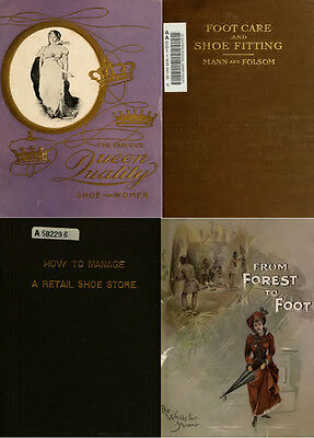 65 Rare Books On Boots, Shoes & Shoe-Making, Vintage Patterns Craft Style On Dvd