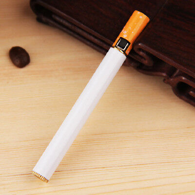 Windproof Jet Flame Cigarette Shaped Refillable Butane Gas Cigar Lighter 1x good