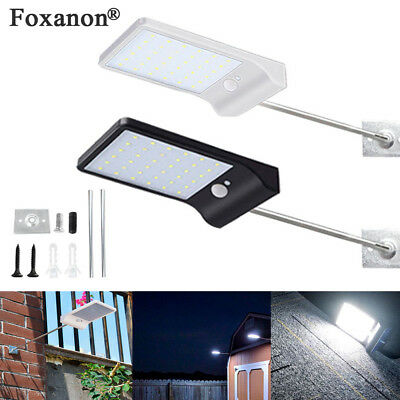 Outdoor 36LED Solar Power Garden Lamp Spotlight Lawn Landscape Waterproof Light