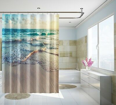 Home & Garden 3d Dolphin Sunshine Shower Curtain Waterproof Fiber Bathroom Home Windows Toilet Curtains, Drapes & Valances
