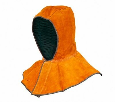 Universal Leather Shawl Cap Cape Hat Dust Cover Welding Protective Equip