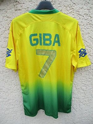 Maillot Volley Ball BRESIL BRASIL GIBA n°7 shirt jersey Olympikus maglia L