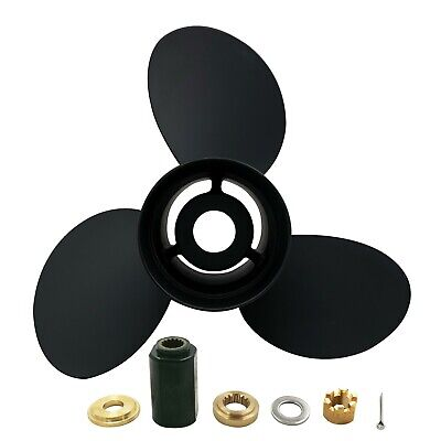 12 5/8 X21 Pitch Aluminum Outboard Propeller 6E5-45943-00-EL For Yamaha 50-130HP