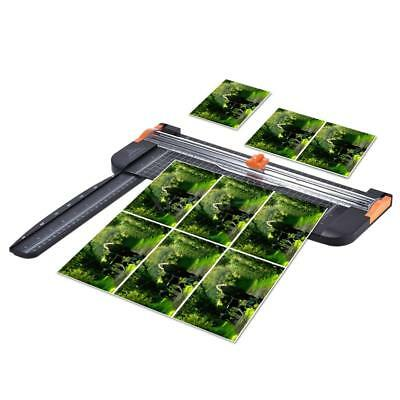 Portable A4 Paper Trimmer Cutters Guillotine Ruler For Photo Labels Cutting Y0N4