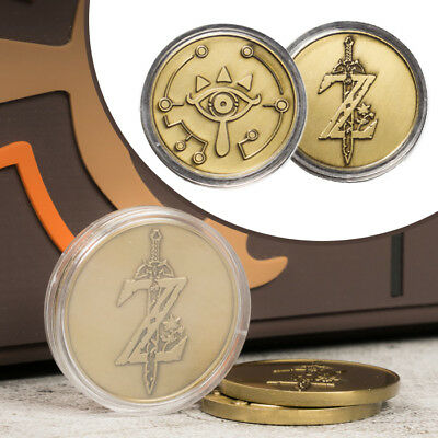 The Legend of Zelda Breath of The Wild Special Edition Collectible Coin Limit NS