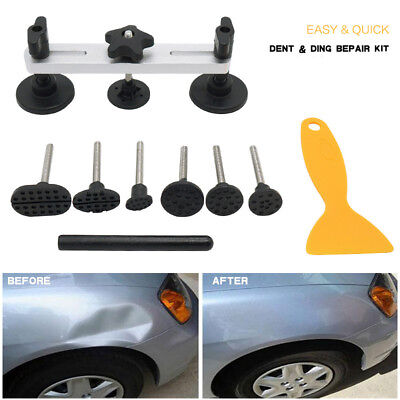 Car Dent Puller Kit Non-Scratch Paintless Dent Removal Auto Body Remover Repair