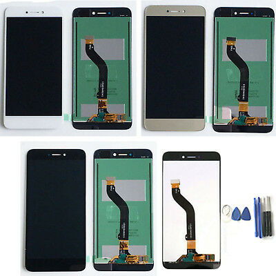 For Huawei P8 Lite 2017 LCD Display Touch Screen Digitizer Glass Assembly +Tools