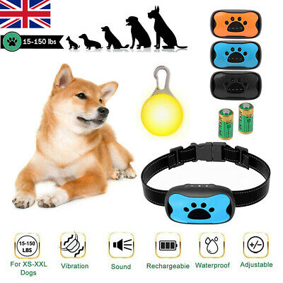 Anti Dog Barking Collar No Bark Control Pet Training Collar with Sound/Vibration