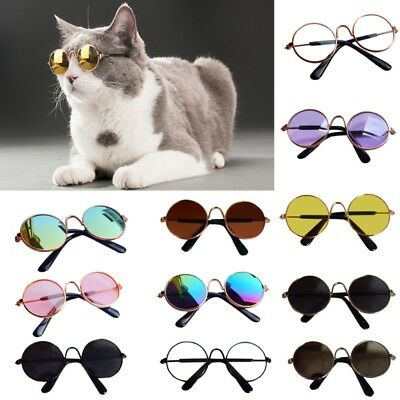 Cute Doll Cool Glasses Pet Sunglasses For BJD Blyth Girls Toy Photo Props