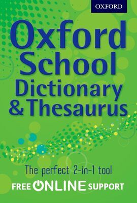 Oxford Combined Dictionary/Thesaurus 2012, Oxford Dictionary, New Book