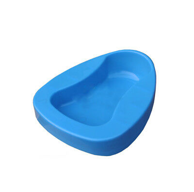 Plastic Bed Pan Bathroom Bedpan Smooth Contour Shape Heavy Duty Personal Care +