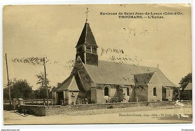 CPA - Carte postale -France -Trouhans - L'Eglise - 1926 ( CP4509 )