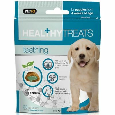 VetIQ Healthy Treats Teething For Puppies 50g - Multi Listing Deal